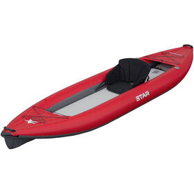NRS STAR Paragon XL Inflatable Kayak red